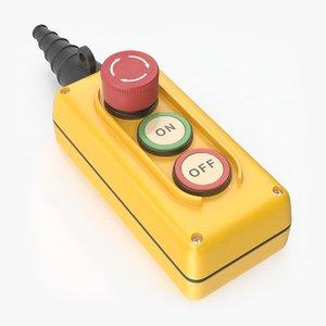 pendant push button emergency model