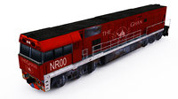 3D australian nr locomotive