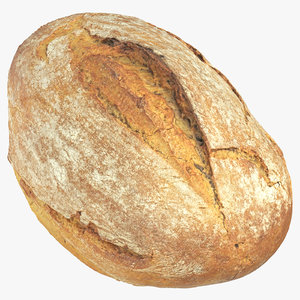 3D bread 07 model