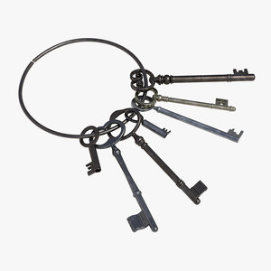 key ring 3D model