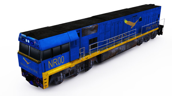 3D model australian nr locomotive