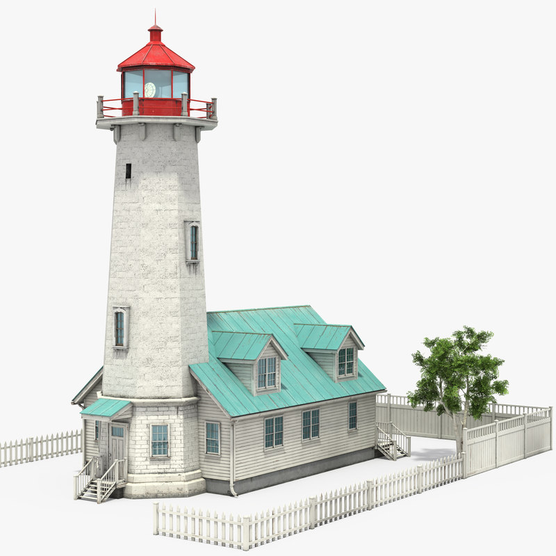 modular lighthouse 3D