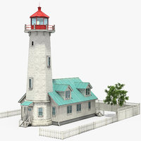 modular lighthouse 3D