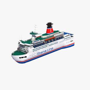 3D stena passenger ferry