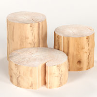 3 coffee table stump