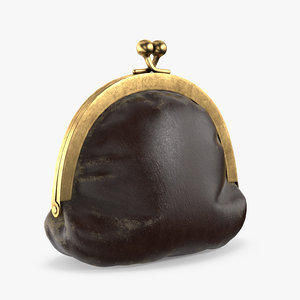 coin purse 3D model