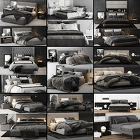 Bed Colection 02 - 10 Items