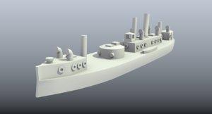 3D printing brazilian monitor bahia model