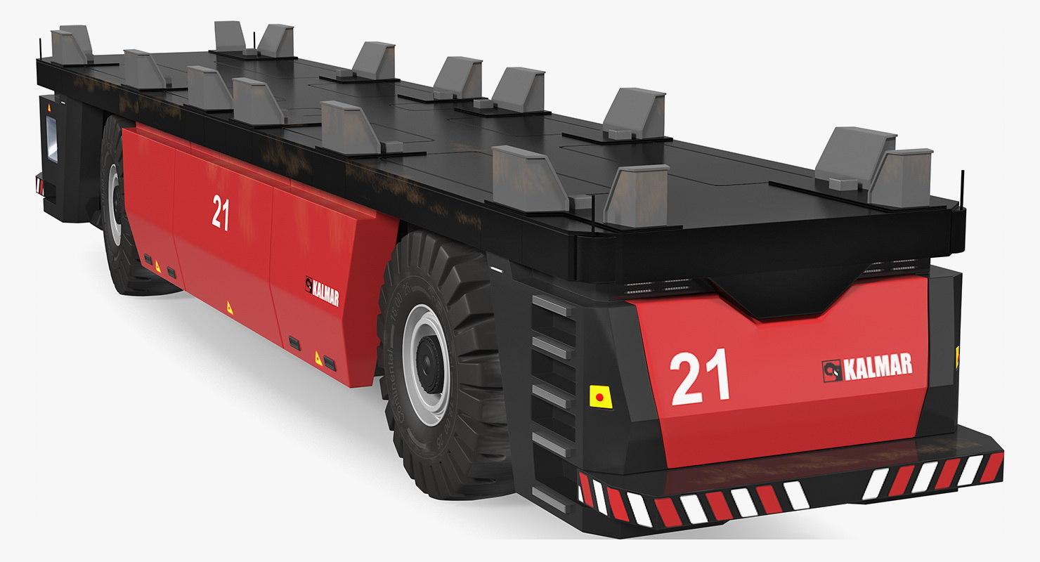 agv trailer kalmar fastcharge 3D model