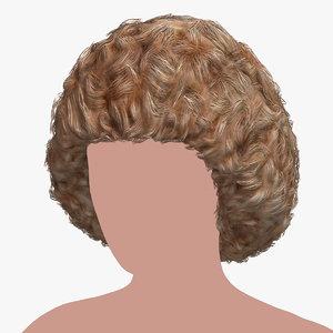 hairstyle 18 hair model