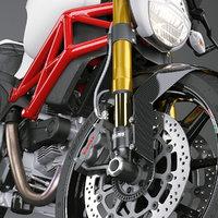 3D model materials motorcycle