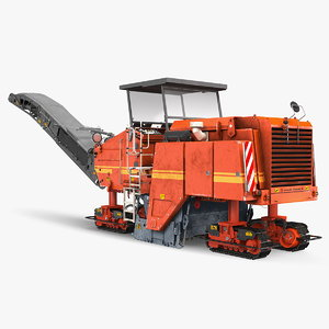 asphalt milling machine dirty model