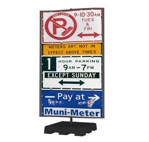 street sign 08 3D