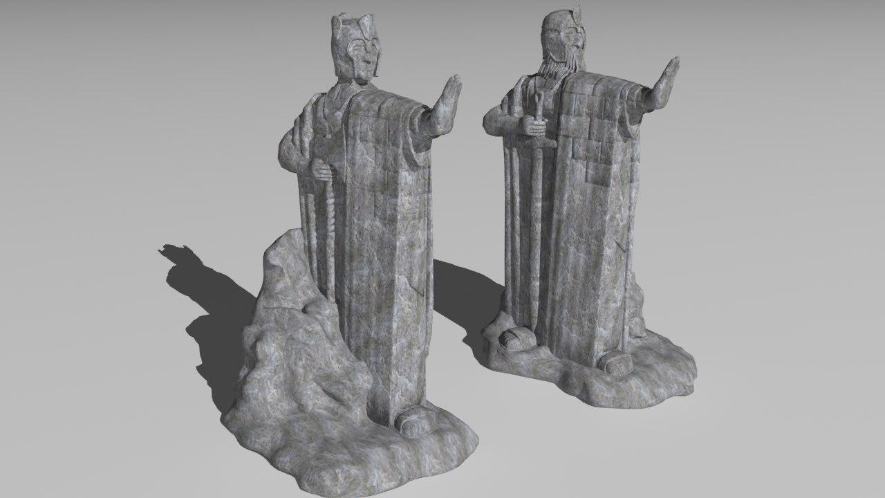 argonaths lord rings model