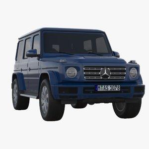 mercedes-benz g-class 2019 mercedes 3D model