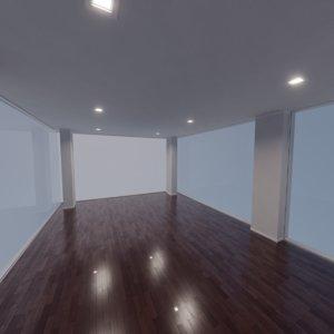 modern interior scene 19 model