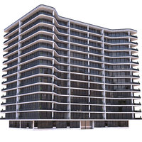 Modern Apartment Building 9
