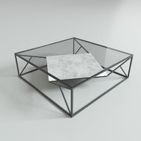Coffee Table Low-poly 3D model