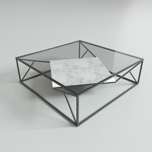 modelling coffee table 3D