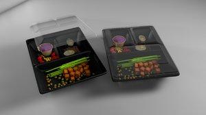 lunchbox box 3D model