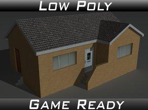 3D house 13 model
