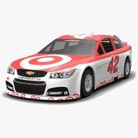 chip ganassi racing nascar 3D