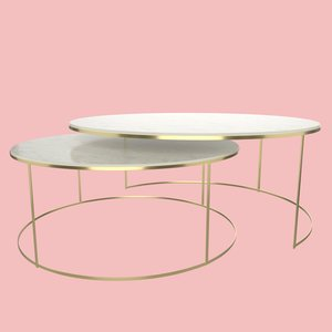 3D modelling modern coffee table