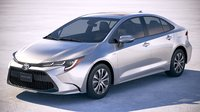 Toyota Corolla sedan hybrid US 2020