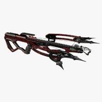 crossbow 3D model