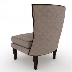 3D armchair comfort chair