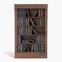 bookshelf pbr 3D