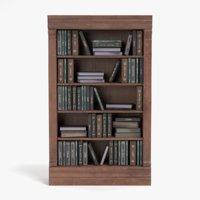 bookshelf pbr 3D model