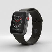 3D apple watch sport model