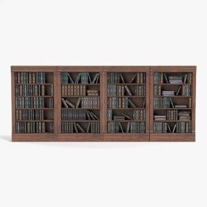 bookshelves pbr 3D model