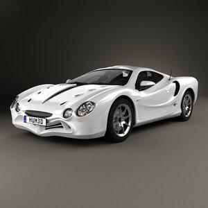 car 2008 3D