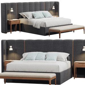apollo porada bed 3D model