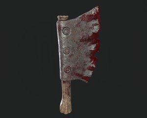 3D butcher knife