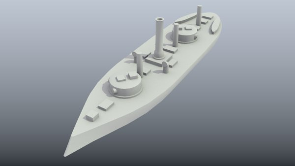 3D model printing brazilian ironclad silvado
