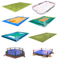 3D big sport arenas 3