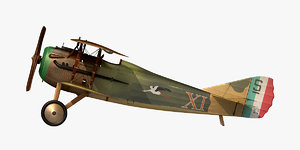 spad s xiii 3D