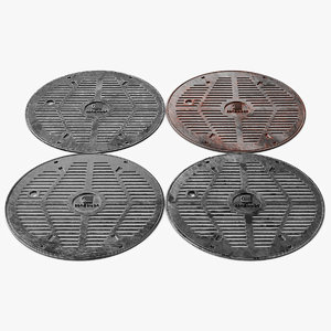 manhole cover hole model