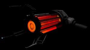 3D model gravity gun