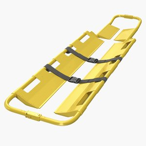 3D lifting scoop stretcher