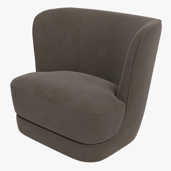 3D model royal armchair