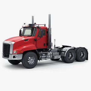 3D generic truck tractor model