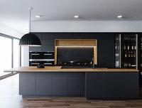 kitchen darren james 3D