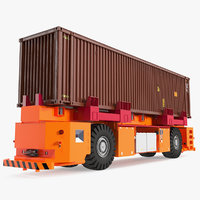 agv generic container cargo model