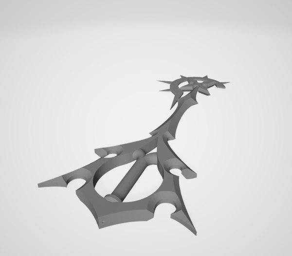 keyblade kingdom 3D model