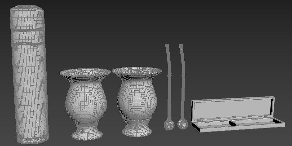 cuia yerba 3D model