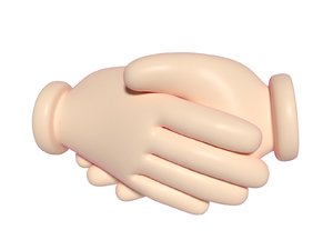 cartoon hand model